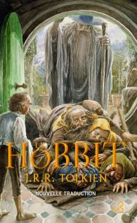 Couverture de la nouvelle traduction du Hobbit (version brochée, non annotée).