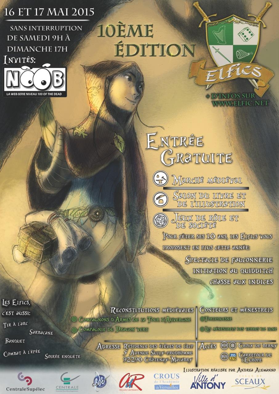 Les Elfics ce weekend Elfic_2015_affiche