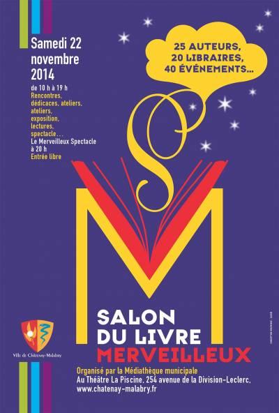 Salon du livre merveilleux 2014 ch tenay malabry france - Salon du livre troyes ...