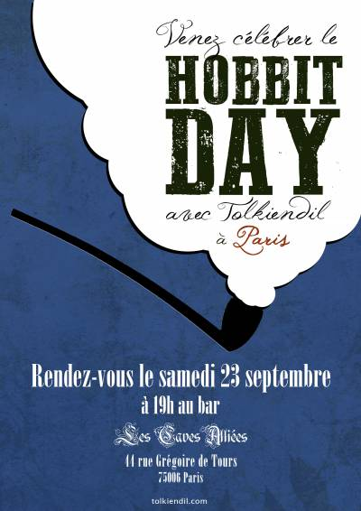 Hobbit Day à Paris le 23 septembre 2017