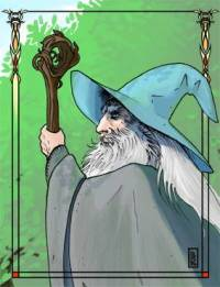 Gandalf © Leslie Boulay