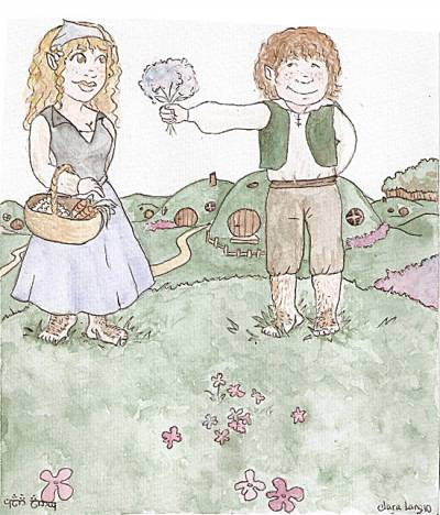 Un couple de Hobbit - Clara Lang