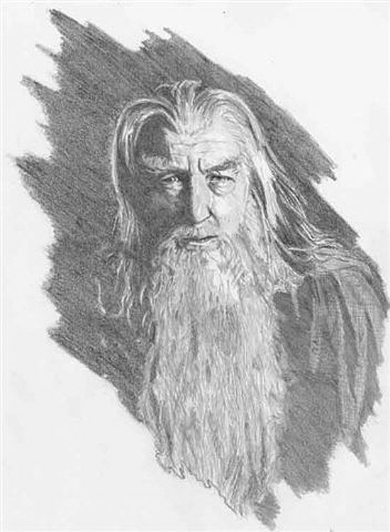 Gandalf - Michel Mouret